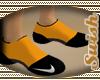 NIKE ORANGE SOCKS