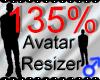 *M* Avatar Scaler 135%