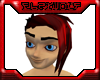 Red Rocker Hair