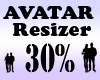 Avatar Scaler 30% / M