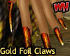 Gold Foil Claws