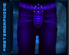 Meta Male Trouser Purple