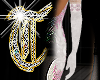 *T* Embroidered Gloves1