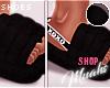 $ Fluff Slides - Black
