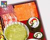 †. Chinese/Sushi Tray