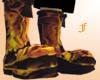 Kickaz Boots Flaming