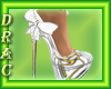 D| Bride Crystal Pumps