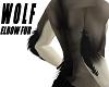 Wolf Elbow Fur *Black