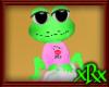 Frog Pet Kiss Me Pink