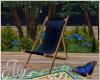 Blue Eden Patio Chair