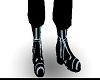 blue tron boots