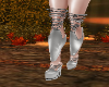 silver frosty xmas boots
