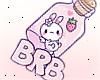 Sign Pink BRB / Trig