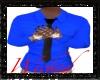 *W* Blue Dress Shirt