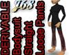 J68 Bodysuit Loose Pants