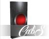 CS Shiny Red Doorbell