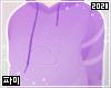Paw hoodie | Purple