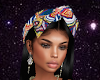 Afro Print Head Wrap