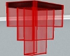 SG Glass Chandelier Red