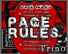 Rules - Page Chatting