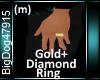 [BD]Gold+DiamondRing(m)