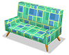 Retro Sofa - Cubes