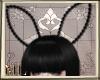 Black pearls bunny ears