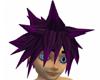 Purple Spikey Hair