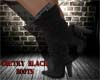 KA~Coutry Black Boots