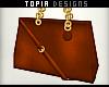 Tan Handbag. (Furn)