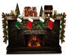 IG/ FIRE PLACE CHRISTMAS