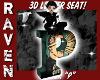RETRO LETTER P SEAT!