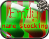 Christmas Stocking Emily