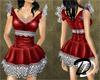 Talulah Dress (red)