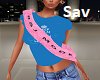 Pink Model Sash