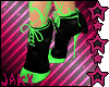 JX Green Web Heels