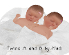 -M- Twins A and B Diaper