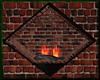 [LM]Cozy Wall Fireplace