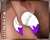 !!S! Tapers White Purple