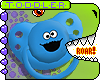 T. Cookie Monster Paci