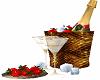 Champagne w Strawberries