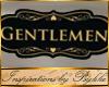 I~Gentlemen Bthrm Sign