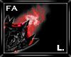 (FA)SpikedShlder L Red