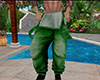 Green Baggy Overalls (M)