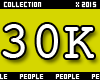 30K Support Sticker