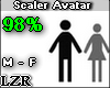 Scaler Avatar M - F 98%