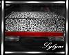 {L}Leopard Ottoman