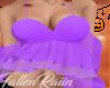 Lavender Ruffle Top