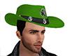 Green Cowboy Hat (M)