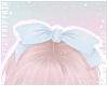 F. Cutie Bow Blue